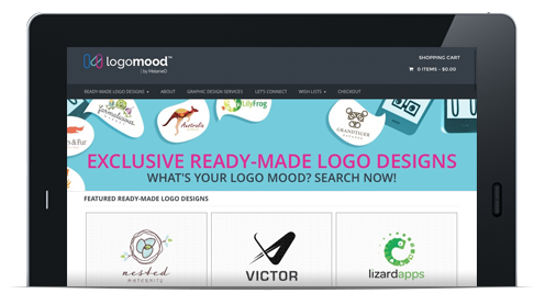 LogoMood Ready Made Stock Logos